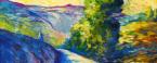 La strada del Cane, olio su tela cm. 50x40 - 2004