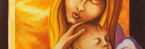 Maternità - olio su tel cm. 50x60 1975