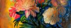 Fiori, olio su tela cm. 40x50 – 1981