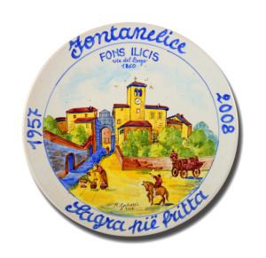 Fontanelice, via del Borgo nel 1860 - 2008
