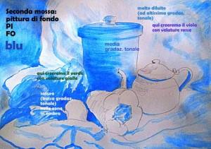 N. 2 seconda mossa PI FO blu