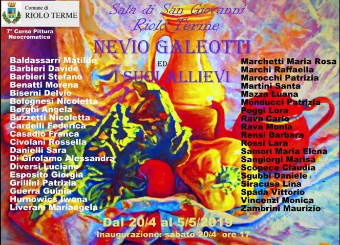 N.Galeotti ed i suoi Allievi-Riolo 2019