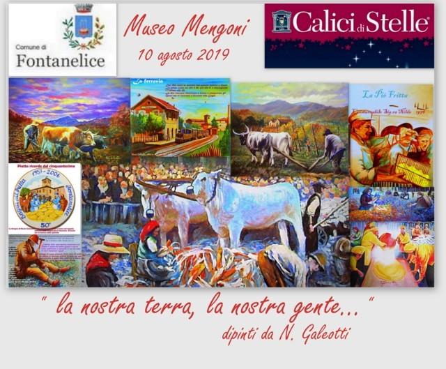 Manifesto Mostra Galeotti - Calici di Stelle 10-10-2019